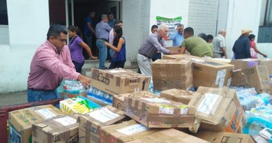Solidaridad de Petroleros de Altamira con los afectados por los sismos