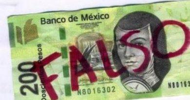 Alertan por billetes falsos de 200 pesos