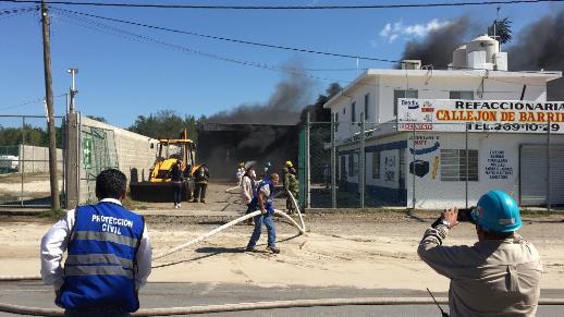 Otra explosión frente a refinería