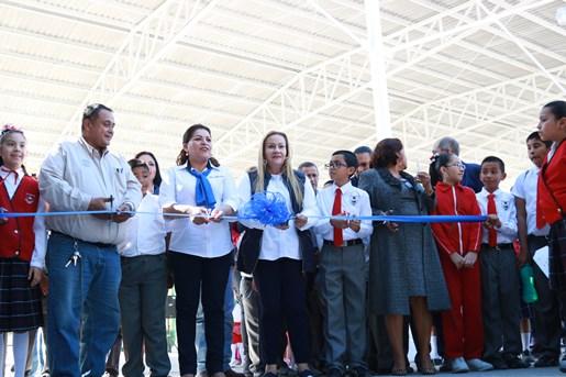 """Inauguran aula didáctica en jardín de niños """"Francisco Gabilondo Soler"""""""