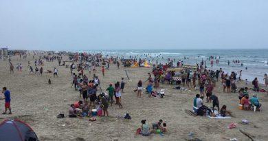 Garantizan seguridad en vacaciones de Semana Santa en Playa Miramar
