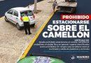 Prohíben utilizar camellón de Boulevard Costero como estacionamiento