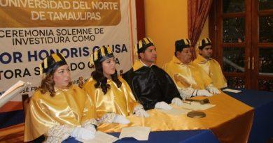 Otorga UNT Doctorado Honoris Causa a Nestora Salgado García