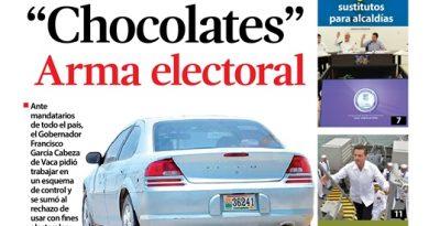 """""""Chocolates"""" Arma Electoral"""