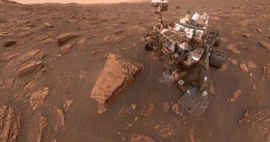 Crece enorme tormenta de polvo en Marte