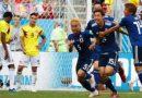 Colombia no pudo con Japón en su debut en la Copa del Mundo