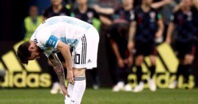 Argentina sufrió una durísima derrota con Croacia y quedó complicada para pasar a octavos de final