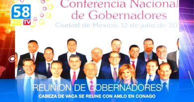 Reunión de Gobernadores con AMLO
