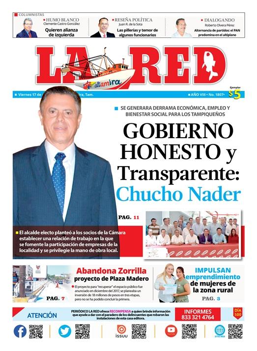 Gobierno Honesto y Transparente: Nader