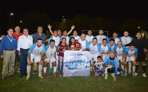 Copa Tam de Futbol tiene sus primeros campeones en la historia