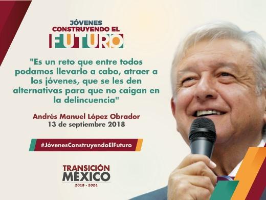 """Presentarán """"Jóvenes Construyendo el Futuro"""""""