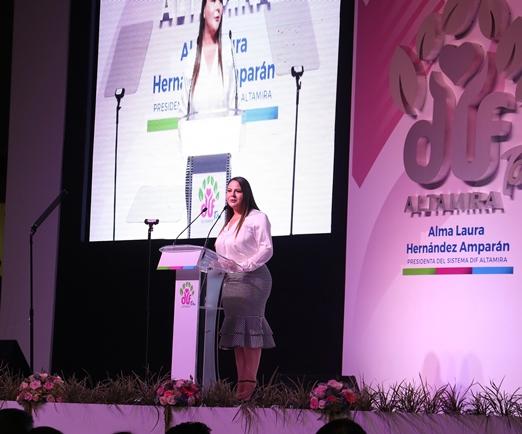 """""""Tenemos hoy un Altamira diferente'': Alma Laura Hernández"""