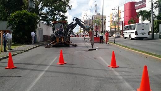 Cierra PEMEX  Avenida Hidalgo
