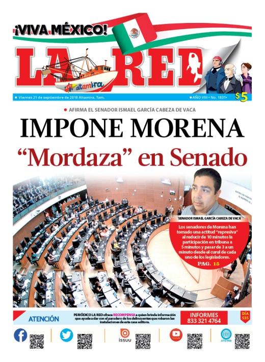 """Impone Morena """"mordaza"""" en Senado"""