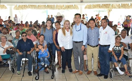 Fortalecen la inclusión social de personas con discapacidad