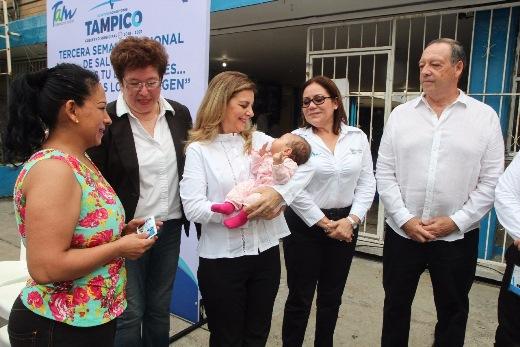 Arranca la Tercera Campaña Nacional de Salud en Tampico