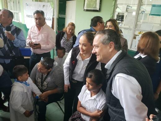 Pide Oseguera respaldo a AMLO en obras hidráulicas