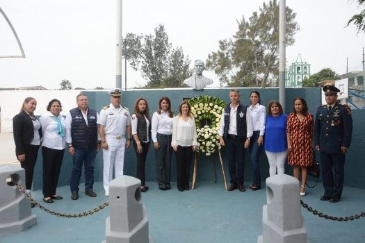 Conmemoran en Tampico el 106 Aniversario Luctuoso de Francisco I. Madero