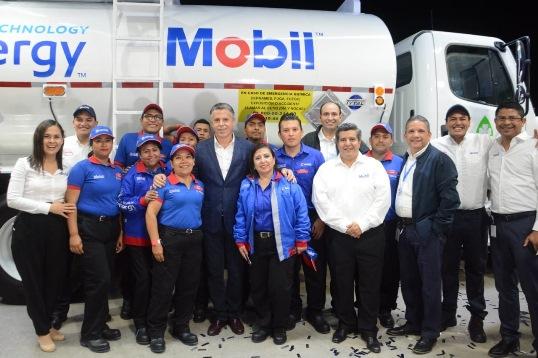 Inauguran primera estación de servicio Mobil en Tamaulipas