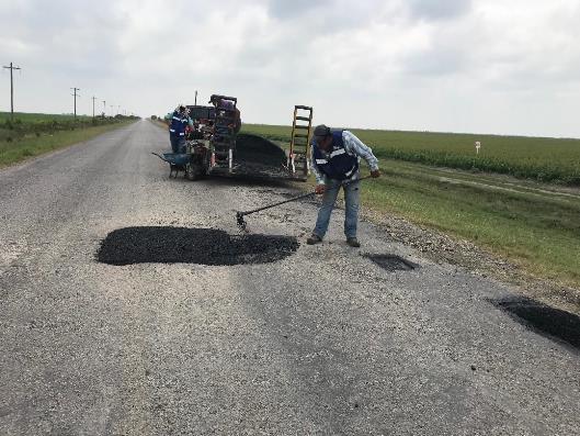 Realizan Trabajos de Rehabilitación de Carretera a La Carbonera