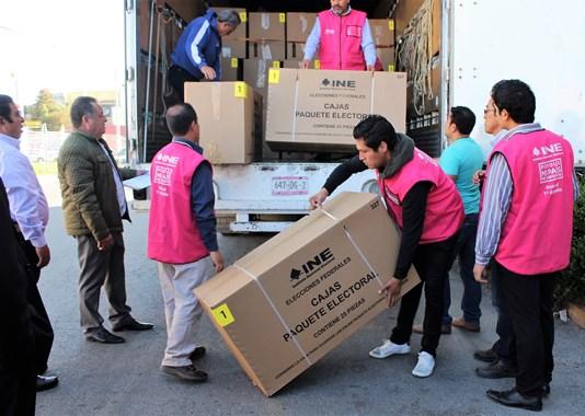 Gastará INE Tampico 236 mil pesos para entregar paquetes electorales