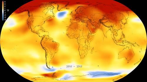 Temperatura global podría aumentar de 3 a 5 grados: Mario Molina