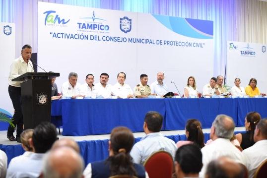 Instalan Consejo Municipal de PC