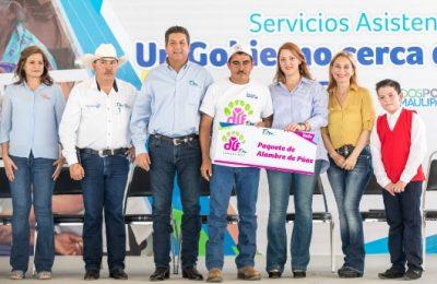 """Brigada """"Un Gobierno Cerca de Ti""""  a las familias de San Fernando"""