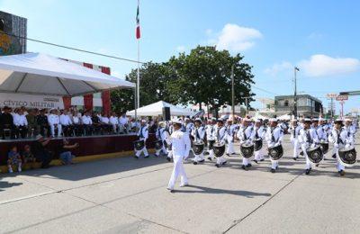 Se engalana Madero con desfile de la Independencia de México