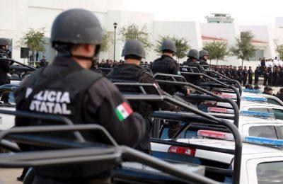 Cuidan 4 mil 900 policías a Tamaulipas