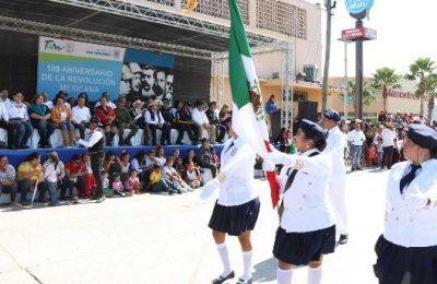 Conmemoran 109 aniversario de la Revolución Mexicana