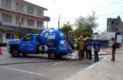 Verifica PC unidades que transportan gas