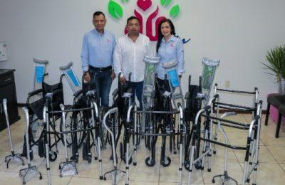 Donan artesanos aparatos funcionales a DIF Altamira