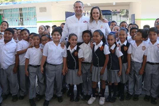 Obra pública beneficia a más de 800 niños