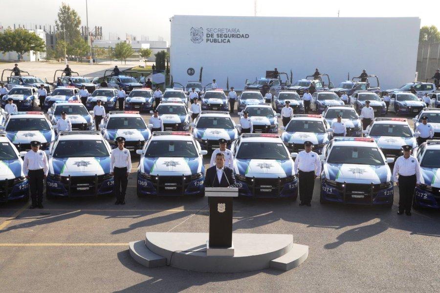 Refuerza Gobierno de Tamaulipas con 63 patrullas a la Policía Estatal