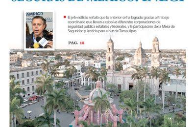 Tampico entre las más seguras de México: INEGI