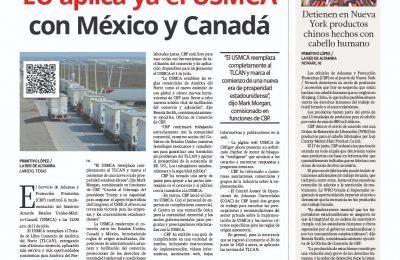 EU aplica ya el USMCA con México y Canadá