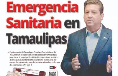 Emergencia Sanitaria en Tamaulipas